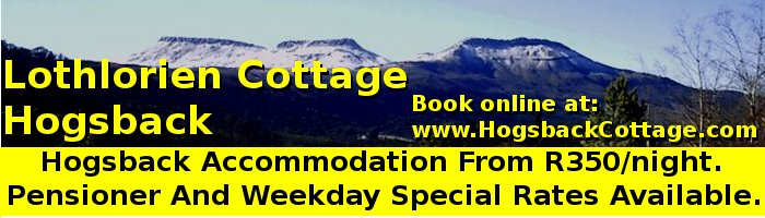 Book Hogsback Accommodation