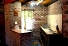 The kitchen of Lothlorien Cottage in Hogsback, South Africa